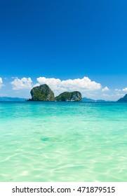 Sunny Panorama Serenity Shore