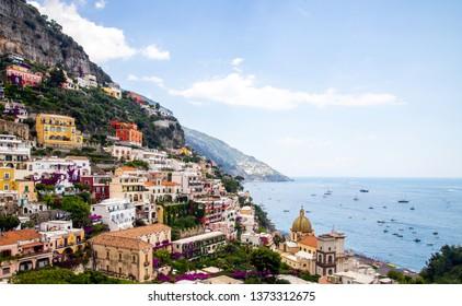 Sunny Positano in Italy