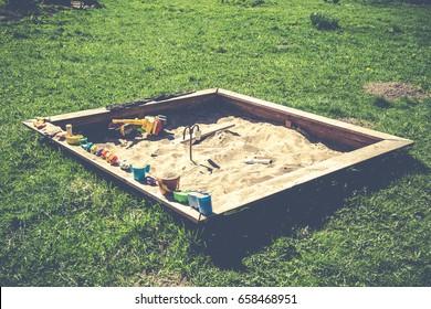 Sunny sandbox