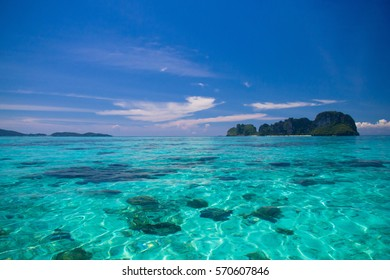 Sunny Waters Green Pinnacle