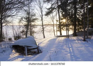 Sunny Winter in Finland, Vuokatti
