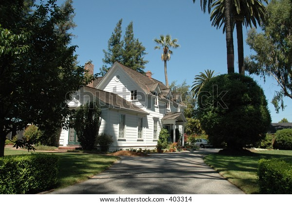 Sunnyvale, California's oldest remaining house, built 1862 by William Wright