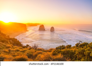 Sunrise at the 12 apostles