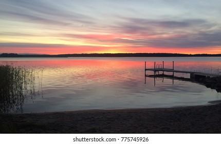 Sunrise in Åland
