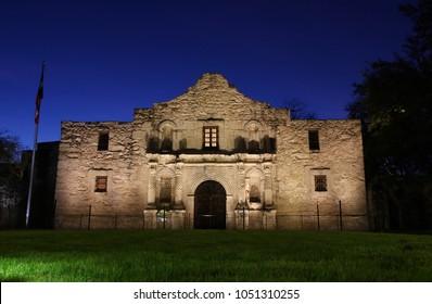 Sunrise at the Alamo, San Antonio