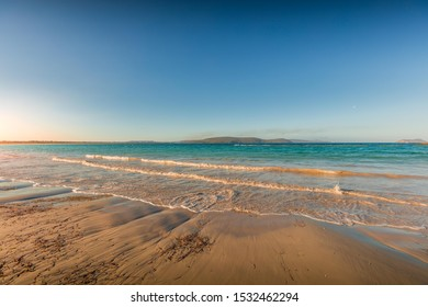 Sunrise at Albany Beach, Albany, Western Australia. Albany Beach is in continuation with Indian Ocean.