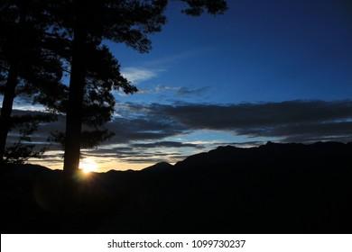 Sunrise in Alishan Taiwan