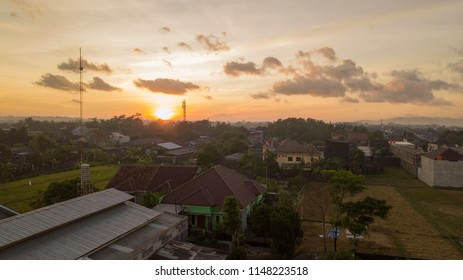 sunrise arial Photografy