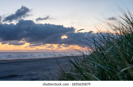 Sunrise at the beach of Norderney - Shutterstock ID 1835635879