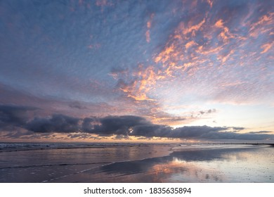 Sunrise at the beach of Norderney - Shutterstock ID 1835635894