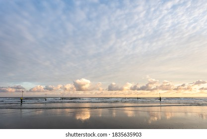 Sunrise at the beach of Norderney - Shutterstock ID 1835635903