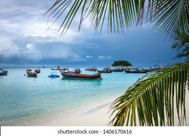 Sunrise beach paradise in Koh Lipe, Thailand