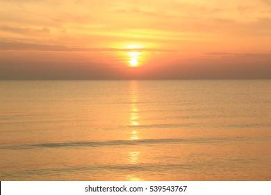 Sunrise Beach, Pranburi, Prachuap Khiri Khan, Thailand