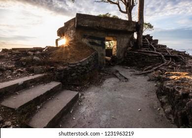 Sunrise at Benteng Jepang (Japan Fortress), Sabang, Aceh, Indonesia