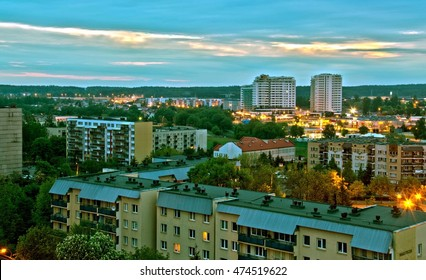 Sunrise in Bialystok, Poland - Shutterstock ID 474519622