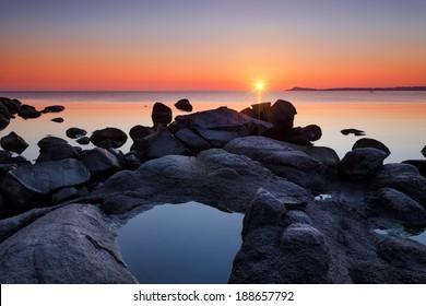 Sunrise in Black Sea