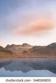 Sunrise at Blea Tarn, Lake District National Park