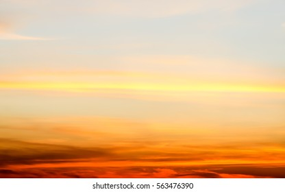 Sunrise blur background .