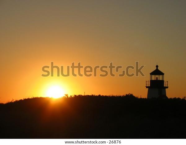 sunrise at brant point light 1