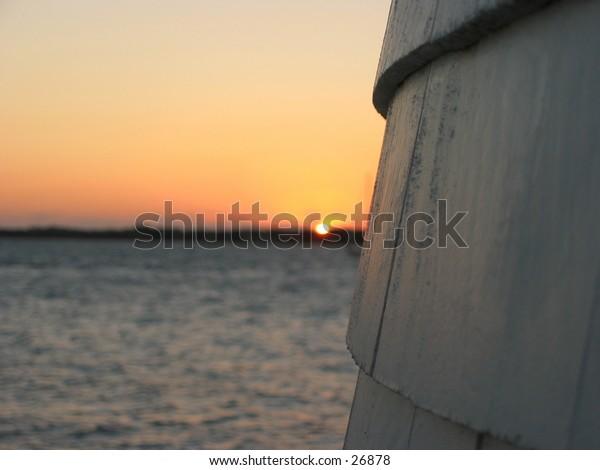 sunrise at brant point light 2