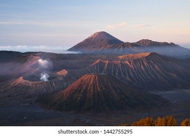 Sunrise at Bromo Viewpoint Indonesia