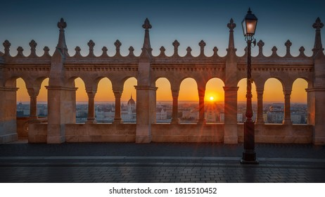 sunrise from the Buda castle