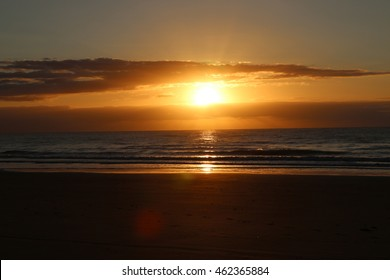 Sunrise by the sea!