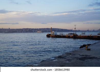 Sunrise by the Sea Istanbul Turkey