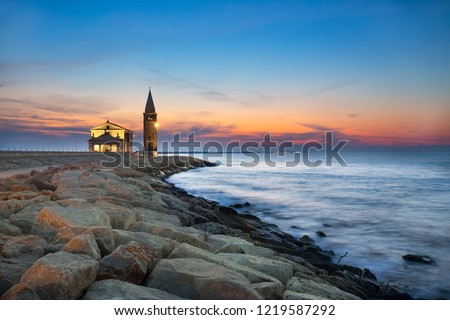 Sunrise in Caorle Santuario
