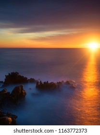 Sunrise to cap d'antibes