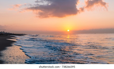 Sunrise in Castelldefels, Spain