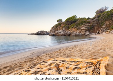 Sunrise at Cavoli Beach, Isola d'Elba, Italiy