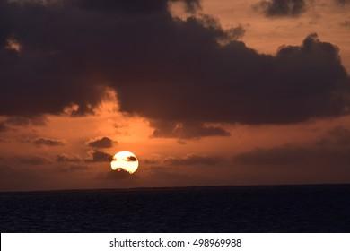 Sunrise in Clouds
