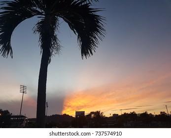 Sunrise color for background