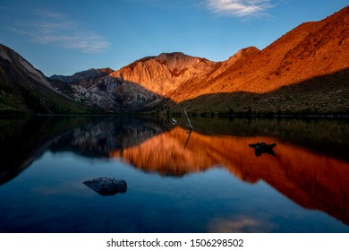 Sunrise of Convict Lake, Mammoth Lakes