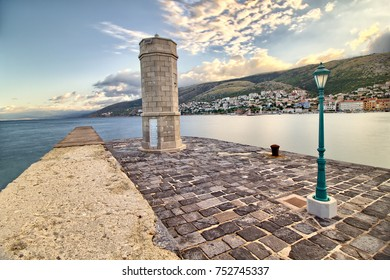 Sunrise in Croatia - Senj - Istria