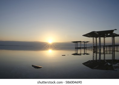Sunrise in the Dead Sea - Israel