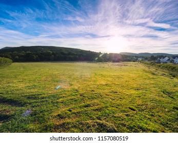 sunrise of Donegal countryside,Ireland