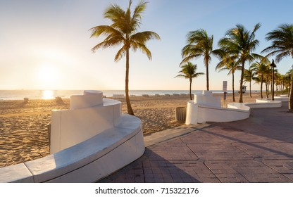 Sunrise at Fort Lauderdale Beach, Florida