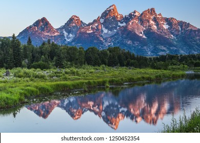 Sunrise in Grand Teton National Park