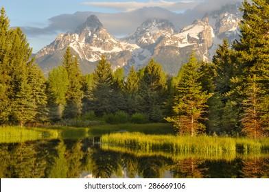 Sunrise in Great Teton National Park