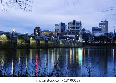 Sunrise in Harrisburg, Pennsylvania