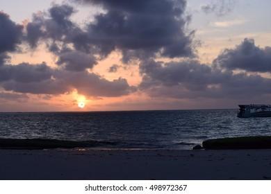 Sunrise in the Horizon