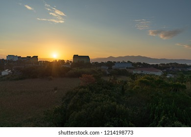 Sunrise Ibusuki Kagoshima Japan