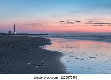 Sunrise at Jesolo Beach, Cavallino-Treporti, Venice,Italy