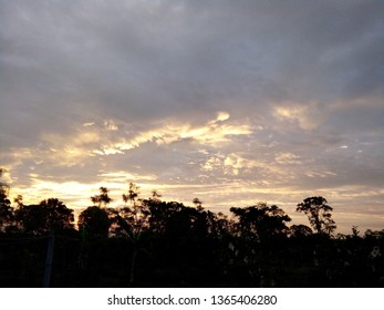 Sunrise in Kao Yai national park,In the morning is the most refreshing time, Nakhon Ratchasima, Thailand.