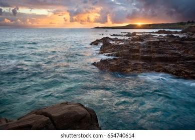 Sunrise in Kapalua, Maui