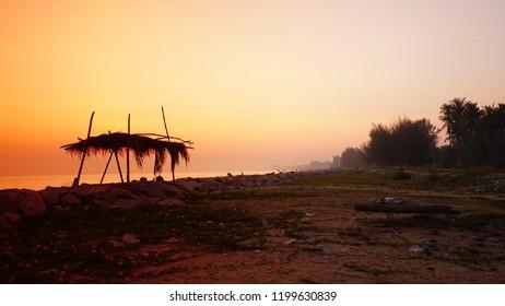 Sunrise at Kelantan Malaysia
