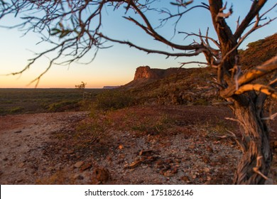 Sunrise at Kennedy Range Nationalpark, Western Australia