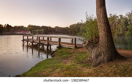 Sunrise at Lake Daylesford Victoria